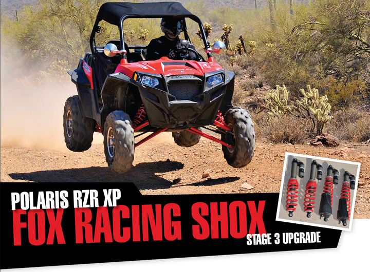 FOX RACING SHOX POLARIS RZR XP STAGE 3 UPGRADE - UTV Off