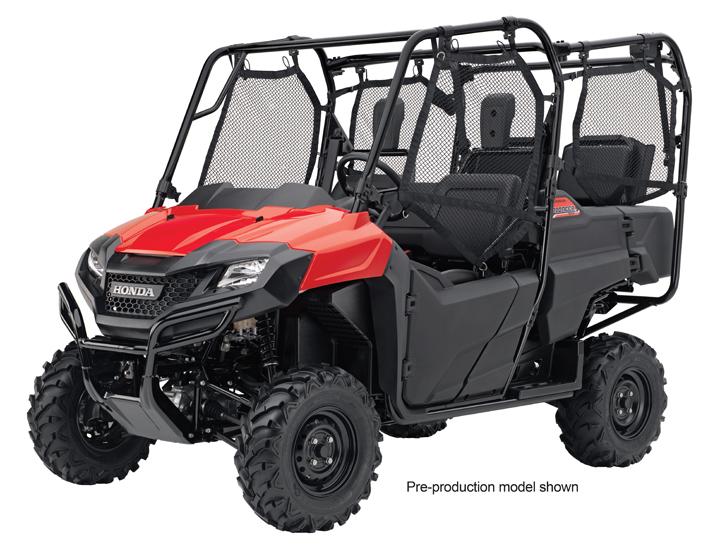 2014 Honda Pioneer 700 4 UTV Off Road Magazine
