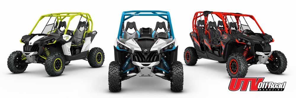 2016 Can Am Model Lineup At A Glance