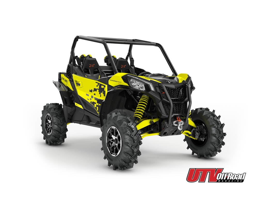 can-am maverick sport XMR, mud machine