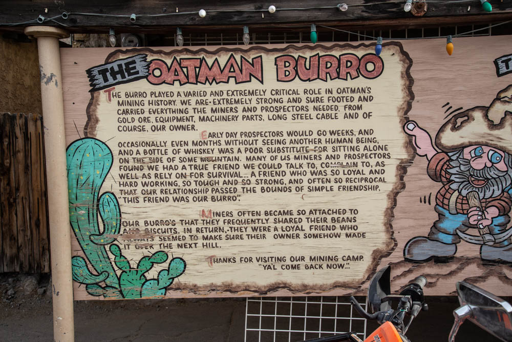 Arizona Peace Trail, Oatman Arizona