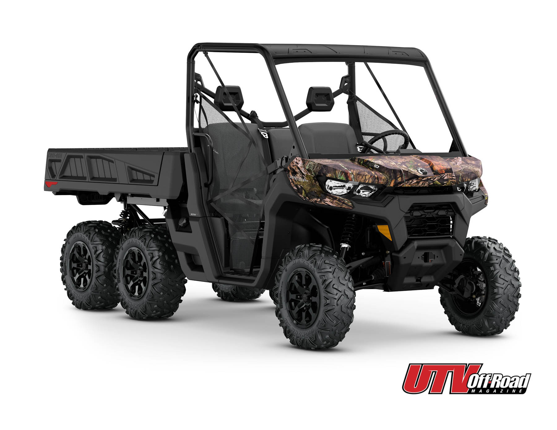 All-New Can-Am Defender 6x6 DPS HD10